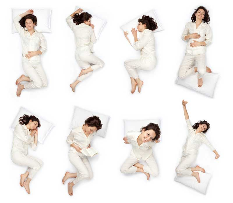 Your sleeping position should affect your choice