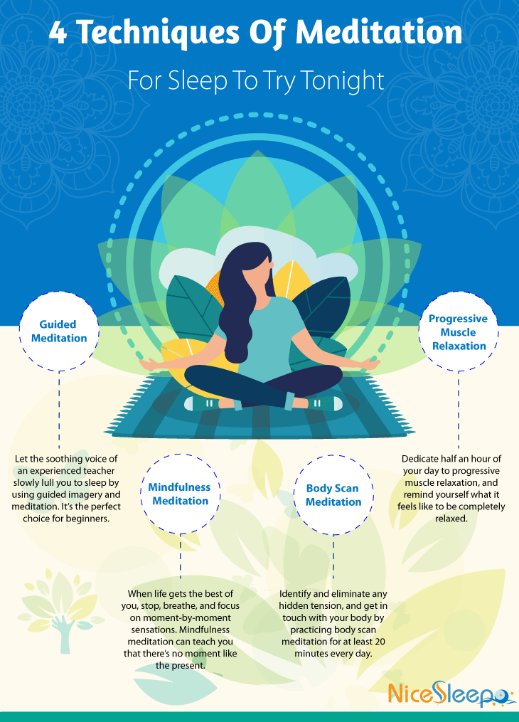 Four Techniques Of Meditation For Sleep To Try Tonight